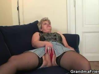 oud, grootmoeder, oma