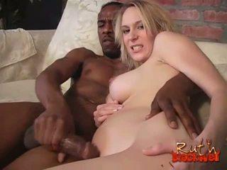 Erin Moore gets cummed by a black stud