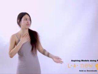Supermodel 屁股 性交 在 面试 铸件