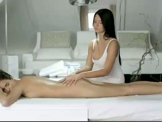 Silvie und addison massage jeder fotzen