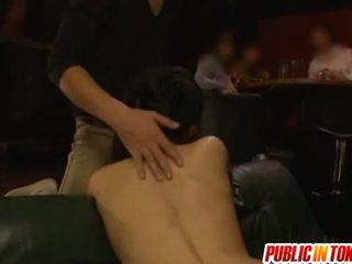 Jemagat öňünde sikiş with sora aoi sikilen in a 3 adam