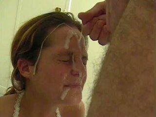 Amatør facial kavalkade