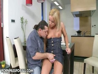 brunette, nice ass, kissing
