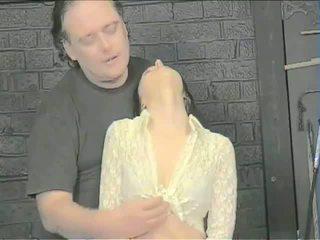 মুখ slapping এবং জিহবা torment
