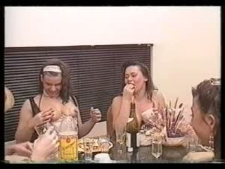 Špinavé švédske retro 90's foodsex