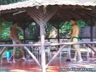 Heet latinos spelen met hun shafts