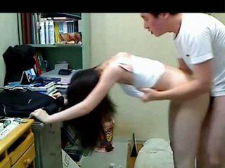 Koreanska äldre bror knull henne younger sister