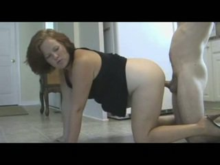 Maminka punishes syn s piss & creampie