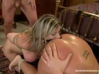 Hot pretty girl dominated