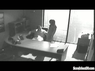 brunetta, cazzo, voyeur