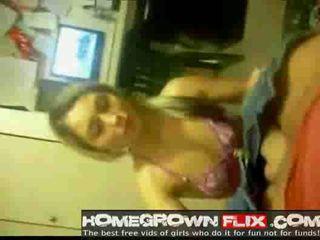 Amateur tiener blondine facialized homegrown flix com homema