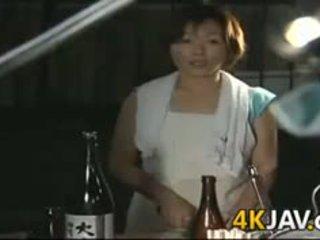 แก่แล้ว ญี่ปุ่น หญิง getting ระยำ