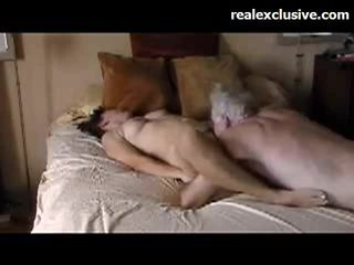 Patricia jautrība ar vecs guy ar a 9 inch thick dzimumloceklis