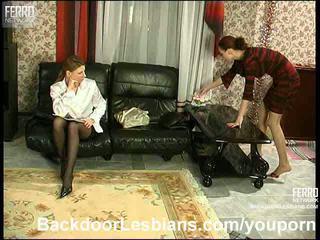 Anāls lesbiete seduction
