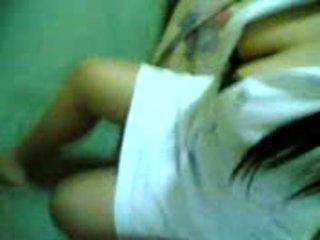 Азиатки азиатки pinay медицинска сестра с superb голям цици