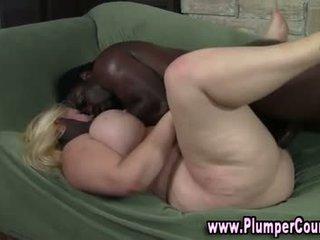 Lubben ekkel blond gets en sædsprut