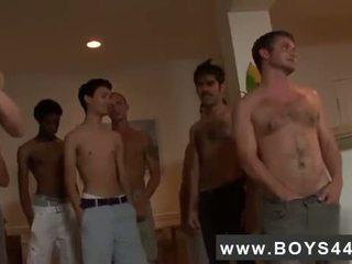 Male models Hell-raising Bukkake with