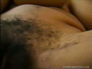 毛茸茸的屄, 卷曲, 浓密的