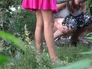 Girls Get Caught Peeing