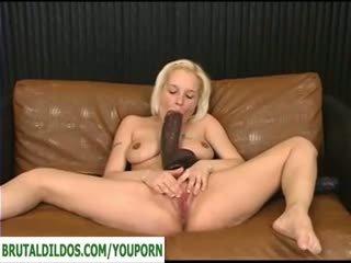 masturbate, huge toy, huge dildo