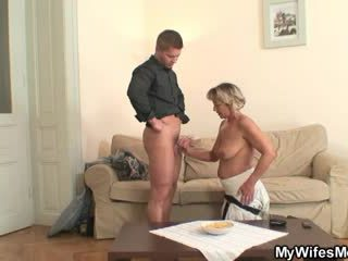 Wife finds him fucking mother-in-law