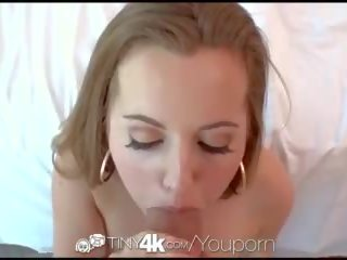 Tiny4k Petite Marissa Mae Shaved Pussy Stuffed With Thick Cock