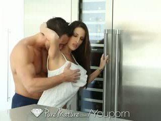 PureMature - Hot brunette Kortney Kane is craving some cock