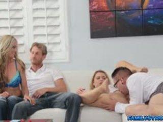 sexo en grupo, usted intercambio de parejas más, en línea mamada