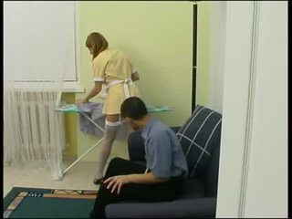 Boss forced maid to fuck hard Video