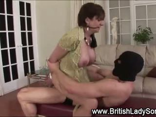 agradable big boobs, comprobar británico, todo mamada comprobar