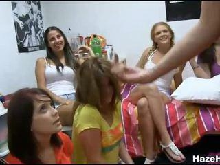 Kutjes licked door meisjes