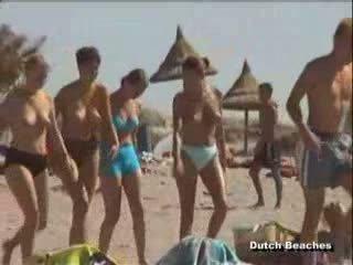 voyeur, pludmale, topless