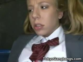 Á châu xe buýt perverts trên trắng thiếu niên!