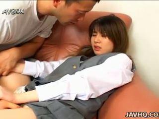 Japanisch schule mädchen ami matsuda blowjob und