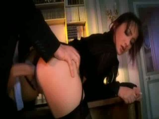Sexy Asian secretary gets fingered and fucked