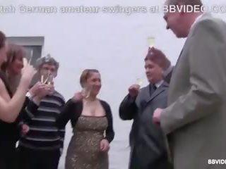Gala vakars turns stāšanās vācieši hardcore svingeri ballīte