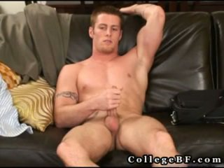 Muscled Rc Stroking His Excellent Cock 15 By Collegebf