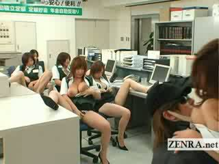 Japonesa post escritório ladrão mamalhuda masturbation festa