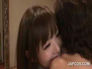 japanilainen, tyttö, yhdenmukainen