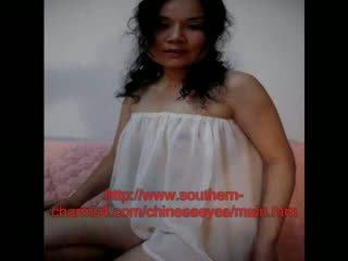 Kiinalainen naimisissa vaimo sisään alusvaatteet