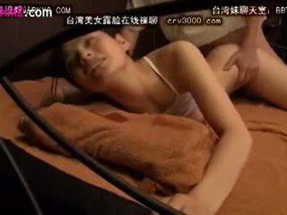 brunette, japonais, baise vaginale