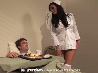 看護師 lexi ward と richie セックス encounter