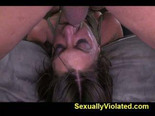 Midwestern chica suffers duro bondage 2