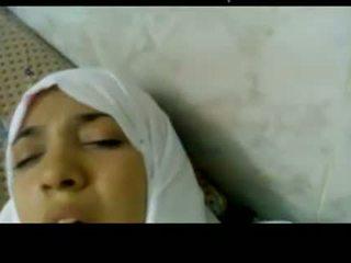 Wonderful 埃及的 arabic hijab 女孩 性交 在 医院 -