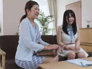 日本の, オーディション, 自慰行為をする