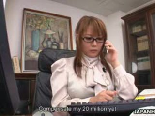 Hinata Komine Is A Totally Awesome Office Slut. This Cute