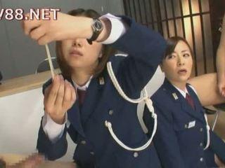 Japonesa female prisão guards caralho seu inmates