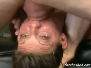 Extreme hardcore oral fuck