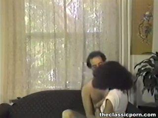 Klein tittted ebony seduces man