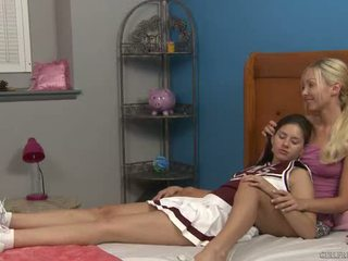 Shyla jennings i aaliyah miłość w cheer camp